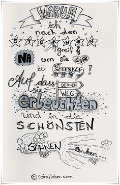 #poetry2go #minigedicht #poesie #sterne #schenken #erleuchten #schön #lenken #reimfieber