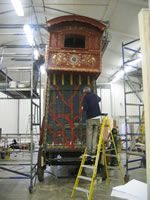 Dreams: The construction of the wagon - for Terry Gilliam's The Imaginarium of Dr Parnassus
