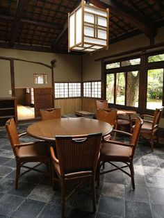 Former residence of Naoya Shiga (Japanese novelist) Hyogo, Shiga, Wakayama, Outdoor Tables, Outdoor Decor, Nara, Japanese, Outdoor Furniture, Home Decor