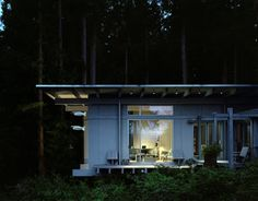 Jim Olson expands tiny cabin he built 60 years ago in rural Washington Timber Cabin, Timber Roof, Interior Exterior, Home Interior Design, Interior Decorating, Cabinet D Architecture, Architecture Student, Kabine, Home Improvement Projects