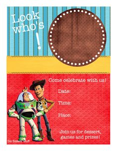 Toy Story Themed Birthday Party With Printables / Six Sisters' Stuff | Six Sisters' Stuff