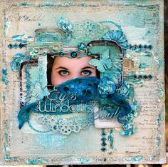 Eyes are the Windows to the Soul ***Scrap Fx*** - Scrapbook.com