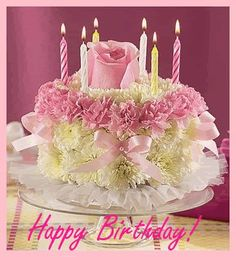 Discover & share this Birthday Cake GIF with everyone you know. GIPHY is how you search, share, discover, and create GIFs. Birthday Wishes Gif, Birthday Wishes Cake, Birthday Blessings, Happy Birthday Greetings, Birthday Messages, Birthday Quotes, Beautiful Birthday Cake Images, Happy Birthday Pictures, Happy Birthday Sister