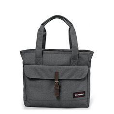 Flail Black Denim. Flail Black Denim Shoulderbags by Eastpak - Front view 5cb672cbf9ad7