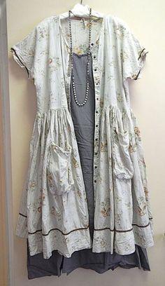 Magnolia Pearl styled by Kati Koos - Antoine Dress as Duster