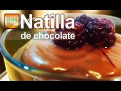 Natilla de chocolate - Cocina Vegan Fácil - YouTube