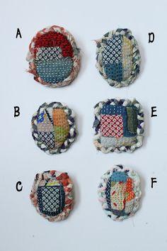 Brooch kimono by SASAKIYOHINTEN on Etsy
