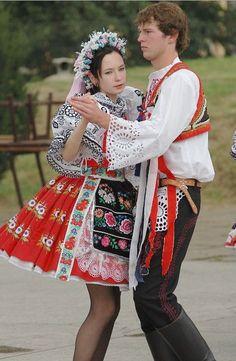 Folk costumes of South Moravia, Czechia
