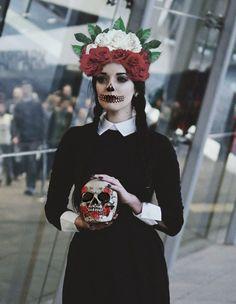 Dia de los Muertos. Made with PicsArt by danifeli.