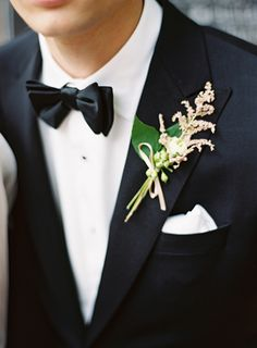 #Black Wedding Black Tie