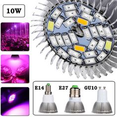 Hot 5730SMD 28Led Full Spectrum Greenhouse Hydroponic Grow Plant Light Bulb Lamp With 4Functions For Plant Breeding Room #Affiliate