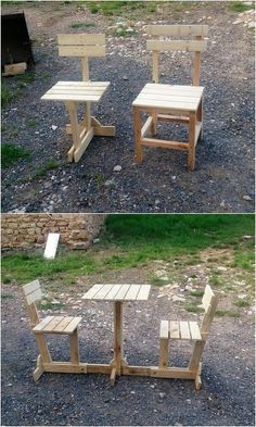 This chairs and table furniture as standing on one leg support is somehow providing with the equivalent height that will definitely be complimenting all by means of your seating items such as chairs. It has been all set in the simple and easy to build form of designing concepts. #reclaimedwoodfurniture