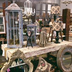 We love home accessories! From candles, to lamps, mirrors, clocks, wall hangings, and so much more!  #decor #home #livingroom #neutral #brown www.simplyuniquefinds.com