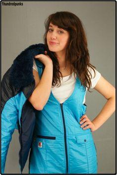 Dungarees, Overalls, Winter Suit, Oldschool, Vintage Ski, Snow Pants, Snow Suit, Warm Outfits, Rain Wear