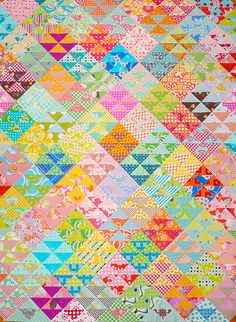 light/dark value of same colour. by red pepper quilts - so very pretty