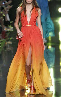 Elie Saab Spring/Summer 2015 Trunkshow Look 25 on Moda Operandi