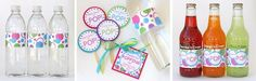 She's about to POP baby shower ideas - from Glorious Treats