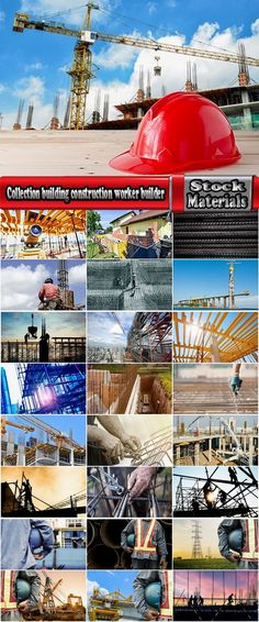 Collection building construction worker builder 25 HQ Jpeg