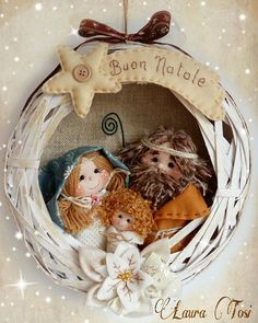 Nativity Ornaments, Christmas Nativity, Felt Ornaments, Christmas 2019, Christmas Wreaths, Christmas Ornaments, Handmade Decorations, Xmas Decorations, Jesus Birthday