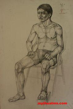 hinh hoa ve nguoi 2 Person Drawing, Still Life Drawing, Human Drawing, Cartoon Girl Drawing, Body Drawing, Drawing People, Figure Drawing, Anatomy Sketches, Anatomy Drawing