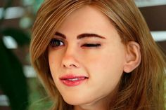 Guy Spends $50,000 On A Robot That Looks Like Scarlett Johansson - If you can't get celebrities to wear the clothes that you design, do what Ricky Ma did. He built a robot that looks exactly like Scarlett Johansson. - #tech