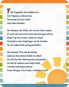 fingerspiel reim gedicht kindergarten erzieherin kita. Black Bedroom Furniture Sets. Home Design Ideas