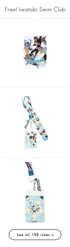 """""""Free! Iwatobi Swim Club"""" by grandmasfood ❤ liked on Polyvore featuring free, anime, text, anime guys, characters, accessories, tech accessories, electronics, phone cases and hair accessories"""