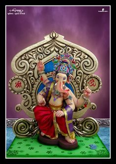 Ganesha Pictures, Ganesh Images, Shri Ganesh, Lord Ganesha, Happy Ganesh Chaturthi Images, Ganpati Bappa, Background Images, Princess Zelda, Eco Friendly