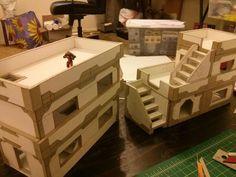 Scratch built Infinity terrain!