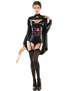 Halloween Sexy Women's Ruthless Galactic Empress Costume
