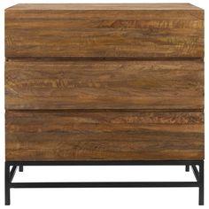 Hutch 3 Drawer Dresser