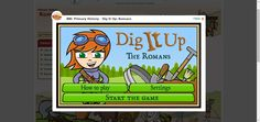 History, Rome, Archeology - Dig It Up: Romans. Cute game that has students excavating a Roman site. Very informative. Rome Activities, History Activities, Teaching History, 3rd Grade Social Studies, Teaching Social Studies, Ancient Rome, Ancient History, Primary History, My Father's World