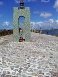 Ponte das esculturas de Francisco Brennand / Recife / Pernambuco / Brasil
