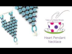 Heart Pendant Necklace | Take a Make Break | Beads Direct