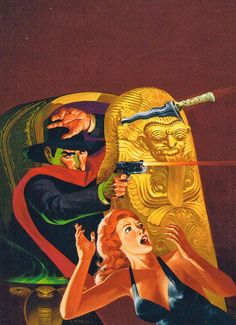 JIM STERANKO - art for Hands in the Dark - The Shadow #4 by Maxwell Grant 1975 Pyramid Books Comic Book Artists, Comic Books, Jim Steranko, Bram Stoker's Dracula, Conceptual Art, Historian, The Magicians, Comic Art, Character Design