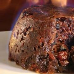 Steamed Christmas Pudding. It's been a while since I've made one...