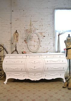 Painted Cottage Chic Shabby French Dresser  DR788 by paintedcottages on Etsy https://www.etsy.com/listing/222969791/painted-cottage-chic-shabby-french