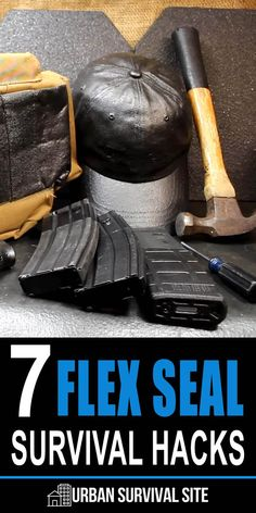Sensible Prepper is the king of survival uses for everyday items, and in this video he came up with seven ways to use Flex Seal Survival Quotes, Survival Life, Survival Food, Wilderness Survival, Outdoor Survival, Survival Prepping, Emergency Preparedness, Survival Skills, Survival Hacks