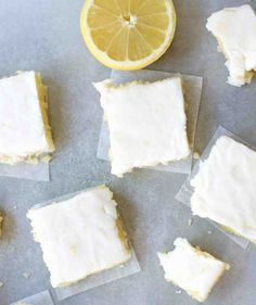 Lemon Brownies Recipe - (5boysbaker)
