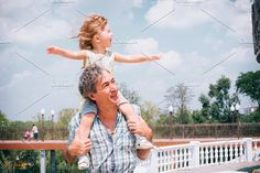 Little girl and her father. by travel_maker on