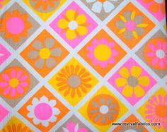 retro fabrics - Google Search