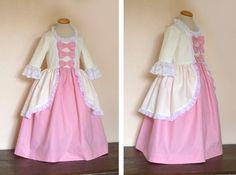 Nouveau modèle de Déguisement: Marie Antoinette Cute Costumes, Girl Costumes, Diy Dress, Dress Up, Little Girl Dresses, Flower Girl Dresses, Marie Antoinette Costume, Princess Costumes, Couture Sewing
