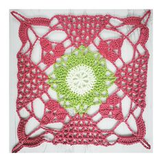 Ravelry: Rustic Lace Square pattern by Crochet Tea Party...free pattern!