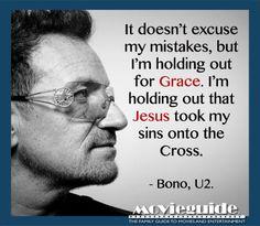 Amen, Bono!