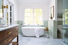 Ideas Container House Design Apartment Therapy for Gorgeous Bathroom Design Trends Summer 45 That Provide . Big Bathrooms, Bathroom Sets, Bathroom Fixtures, Small Bathroom, Master Bathroom, Modern Bathroom, Rental Bathroom, Bathroom Cabinets, Bathroom Trends