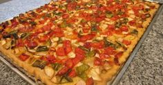 Quiches, Delicious Vegan Recipes, Vegetarian Recipes, Yummy Food, Healthy Recipes, Vegetable Recipes, Vegetable Pizza, Cheap Meal Plans, Pasta Recipes