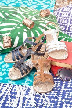 Wasabi, lightweight t-bar sandal in beautifully soft leather   Moshulu