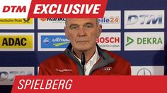 """""""It was clear what game was played with Timo"""" - Statement Dr. Ullrich - DTM Spielberg 2015 // Dr. Wolfgang Ullrich voices his opinion on the incident between Timo Scheider, Robert Wickens and Pascal Wehrlein towards the end of race 2 at Spielberg.  Dr. Wolfgang Ullrich über die Szene zwischen Timo Scheider, Robert Wickens und Pascal Werhlein kurz vor Ende des zweiten Rennens in Spielberg."""