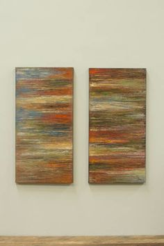 SET/2 OIL PAINTING \ ABSTRACT  $225.00