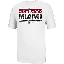 adidas Miami Heat 2013 Division Champions Locker Room T-Shirt